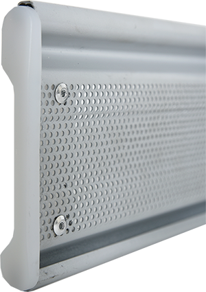 Perforated rolling shutter, model 115